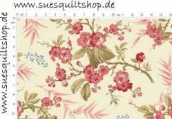 Makower Little Sweetheart Bouquet Raspberry