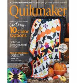 Quiltmaker No. 183 September/October 2018