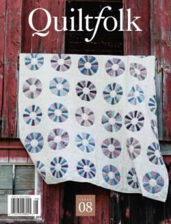 Quiltfolk No. 08 - Magazin ohne Werbung!!!!