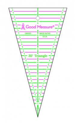 Good Measure 30 degree Triangle Ruler, 30 Grad Dreieck-Lineal