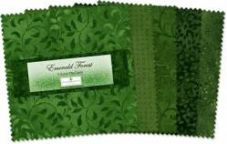 Wilmington Essential Gems Emerald Forest 5 inch Squares 42 stk.