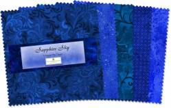 Wilmington Essential Gems Sapphire Sky 5 inch Squares 42 stk.
