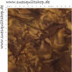 Hoffman Batik Earth braun