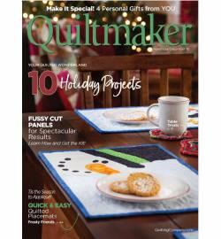 Quiltmaker No. 184 November/December 2018