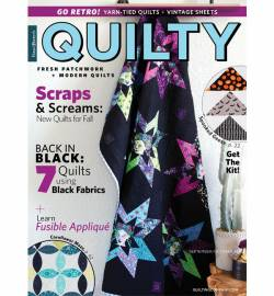 Quilty: Fresh Patchwork & Modern Quilts   September/October 2018