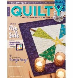 Quilty: Fresh Patchwork & Modern Quilts November/December 2018