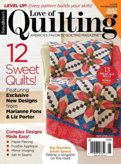 Fons And Porters Love of Quilting NO. 129 May/June 2017