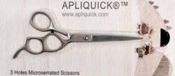 Apliquick Drei-Loch-Schere ca. 17 cm lang, Schneide ca. 7 cm