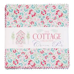 Tilda Cottage Collection Charm Pack 5 inch Squares