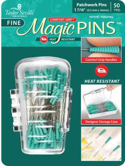 Tailor Mate Magic Pins Fine Pins 100 stk Stecknadeln hitzebeständig
