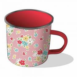 Kaffeebecher Farm Girl Bouquet