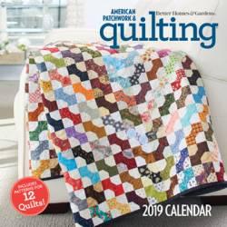 American Patchwork & Quilting Calendar Book 2019