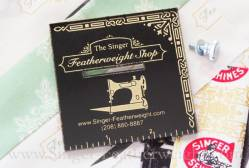 Singer Featherweight Seam Guide black