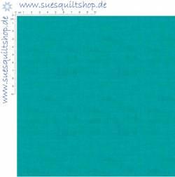 Makower Linen Texture Turquoise Leinenstruktur türkis
