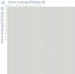 Makower Pinstripe, feine Streifen hellgrau weiss