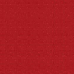 Benartex Fandangle Red Confetti Crosshatch rot