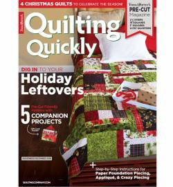 Quilting Quickly    November/December 2018