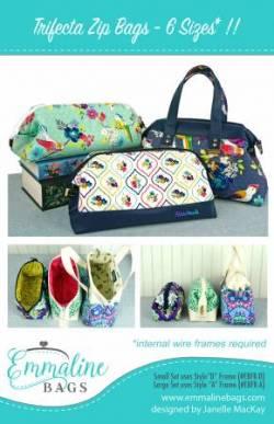 Anleitung Trifecta Zip Bags