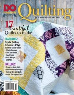 Do Magazine: Quilting Techniques & Projects Bookazine