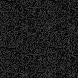 Elisabeths Studio Black Swirl Texture Pearlized Schnörkel schwarz