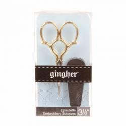 Gingher Stickschere 3.5 inch Epaulette