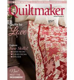 Quiltmaker No. 185 January/February 2019