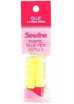 Sewline Nachfüllpackung für Textil-Klebestift gelb wasserlöslich