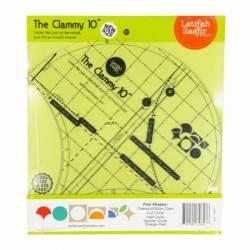 Acrylschablone Clammy 10 inch Clamshell