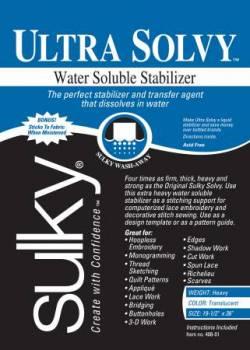 Sulky Ultra Solvy, wasserlösliches Stickvlies