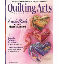 Quilting Arts February March No. 98