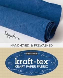 Kraft-Tex Sapphire Hand-Dyed & Prewashed