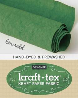 Kraft-Tex Emerald Hand-Dyed & Prewashed