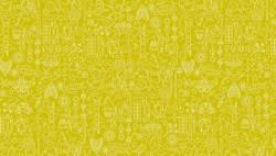 Makower Alison Glass SunPrints Collection Chartreuse weiss auf grün