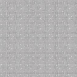 Benartex Fandangle Grey Confetti Crosshatch grau