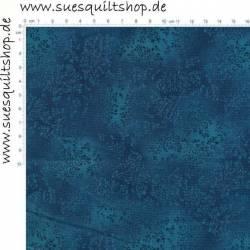 Robert Kaufman Fusions Deep Ocean Tonal Leaves Blätter blautürkis