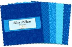 Wilmington Essential Blue Ribbon 5 inch Squares 42 stk.
