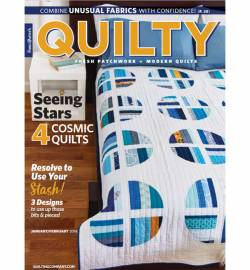 Quilty: Fresh Patchwork & Modern Quilts  January/February 2019