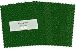 Wilmington Essential Gems Evergreen 5 inch Squares 42 stk.