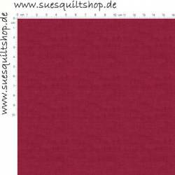 Makower Linen Texture Burgundy Leinenstruktur burgunderrot