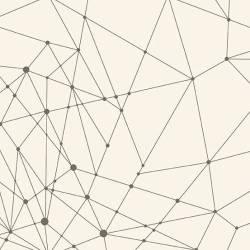Makower Redux String Theory grau auf natur