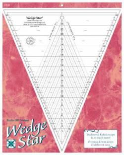Deb Tuckers Wedge Star Ruler