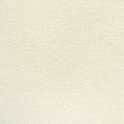 Santee Tiny Dots White Tint weis auf creme