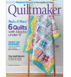 Quiltmaker No. 187 May/June 2019