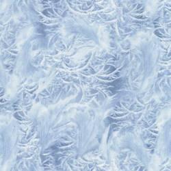 Timeless Treasures Winter Freeze Ice Frost Eisblumen