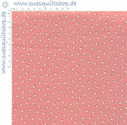Daiwabo Ds Selection Patchwork Basic 1930s Punkte rosa