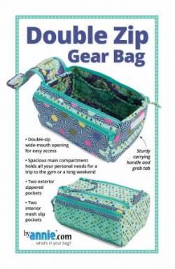 Anleitung Double Zip Gear Bags