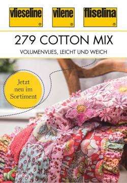 Baumwollvlies Freudenberg 80/20 Cotton Mix 279 natur, Queen Size (ca. 220 x 270 cm)