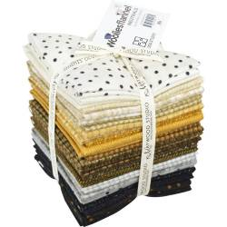 Maywood Fat Quarter Bundle Flannel Neutrals FLANELL, 12 Fat Quarter