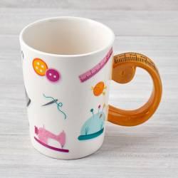 Tape Measure Sewing Mug Kaffeebecher