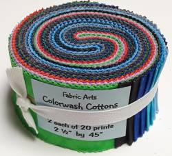 Fabric Arts Colorwash Roll 2 x 20 Streifen